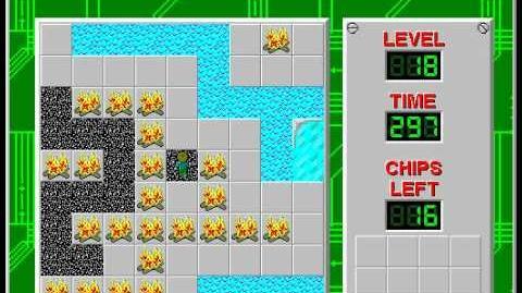 CCLP2 level 18 solution - 237 seconds