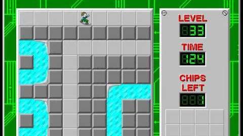 CCLP2 level 33 solution - 76 seconds