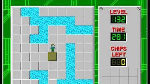 CCLP2 level 132 solution - 246 seconds