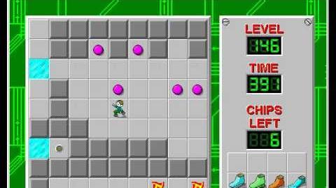 CCLP2 level 146 solution - 317 seconds