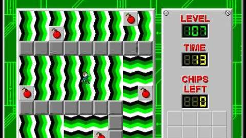 CCLP2 level 107 solution - 6 seconds