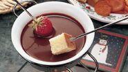 Chocolate fondue