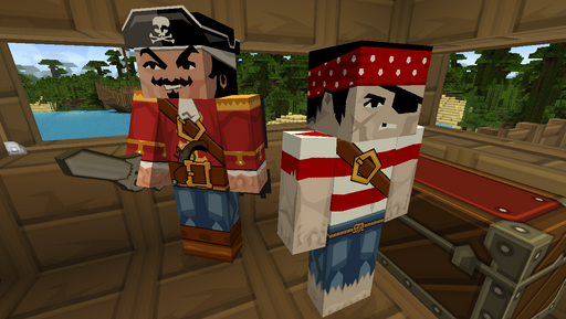 Chocolate Quest Texture Pack Pirates 1