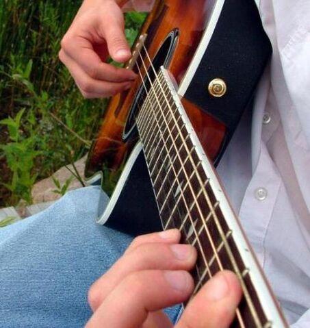 File:Playing acoustic guitar.jpg