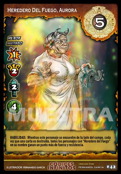 14 HEREDERO DEL FUEGO, AURORA