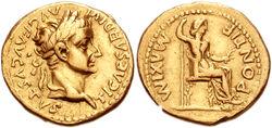 Tiberius&Livia Aureus