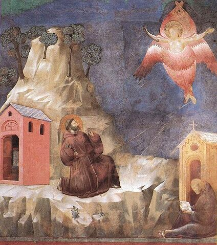File:Giotto - Legend of St Francis - -19- - Stigmatization of St Francis.jpg