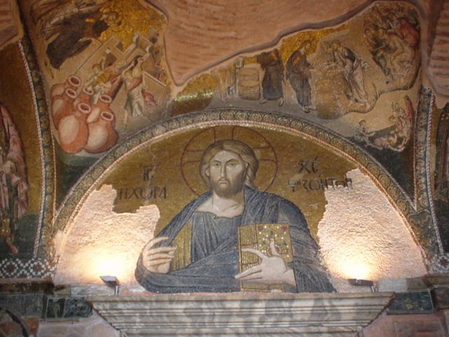 File:Christ in the Church at Chora.jpg