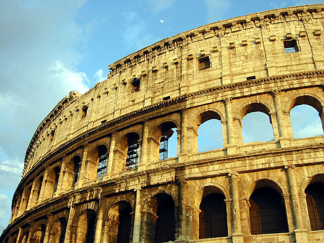 File:Roman Colosseum With Moon.jpg