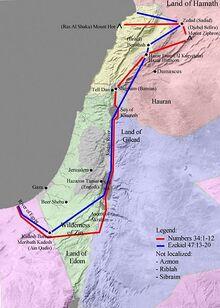 Image-Map Land of Israel