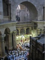 Holy sepulchre Anastasis