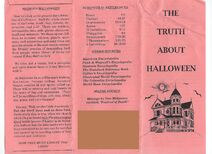The Truth About Halloween front-back