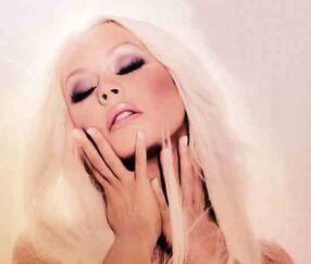 Christina-aguilera-lotus-promo thelavalizard