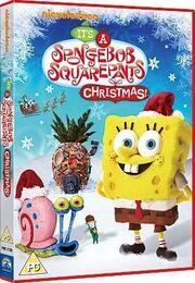 ItsASpongebobChristmas PAL DVD