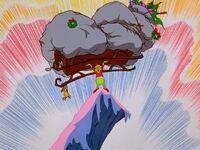 Grinch saves the sleigh