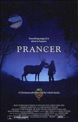 Prancer film poster