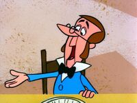 Cratchit looks like George Jetson