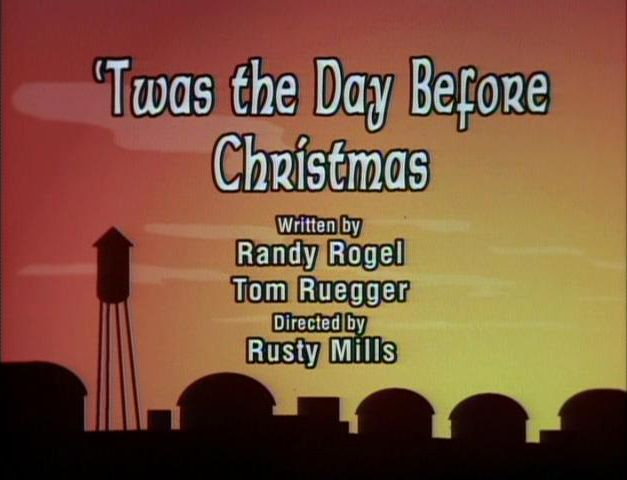 Twas the Day Before Christmas (Animaniacs) | Christmas Specials ...