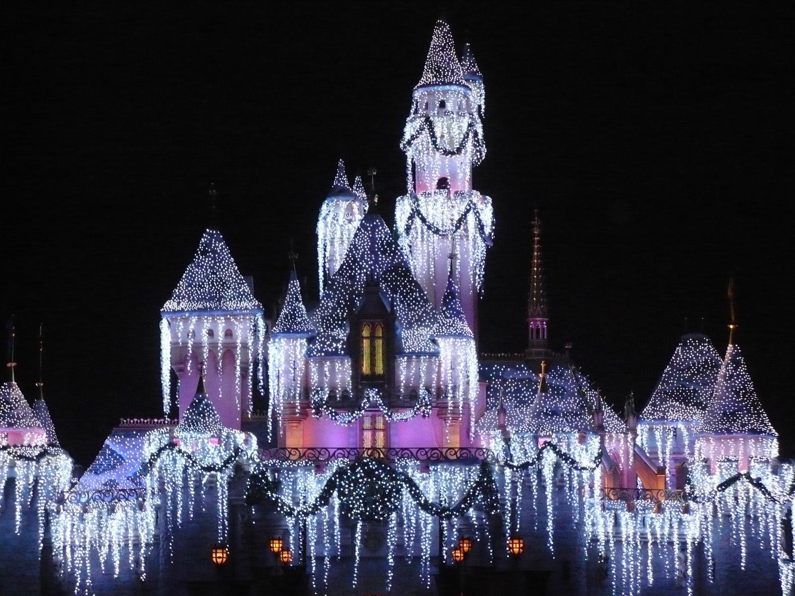 Image - Disneyland-christmas-castle-hd-wallpapers.jpg | Christmas ...
