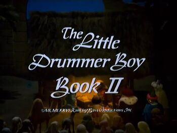 the little drummer boy book ii christmas specials wiki