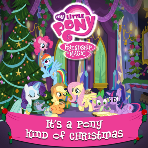 File:It's a Pony Kind of Christmas album cover.png
