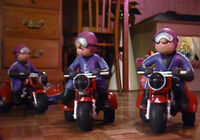 Toy Motorcycle Gang