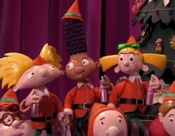Arnold, Gerald, and Helga in The 12 Days of Nickmas