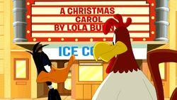 Daffy and Foghorn
