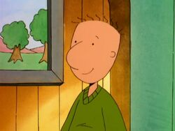 Doug in the Disney Christmas episode