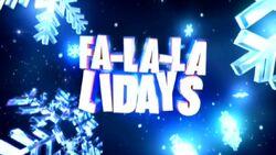 Fa-La-La-Lidays