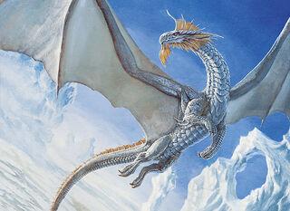 Silver dragon - Lars Grant-West