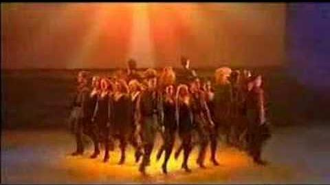 Last of the Mohicans Theme-irish dancing