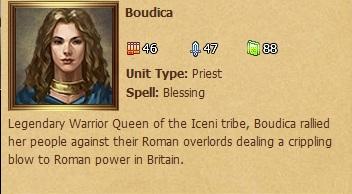 Boudica - Status Window