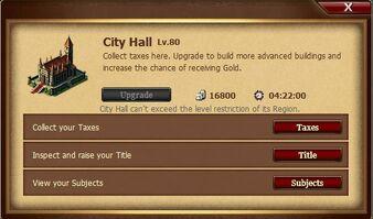 City Hall Interface