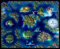Chrono Cross World Map