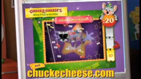 Chuck E. Cheese Online Ticket Blaster Game