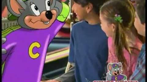 Chuck E. Cheese's TV Commercial - Chuck E. Heads