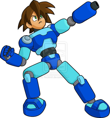 File:Mega man volnutt shooting wip by rockinx-d328vom.jpg
