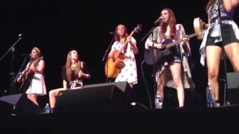 Cimorelli - Don't Think About It in San Jose (09 13 14)