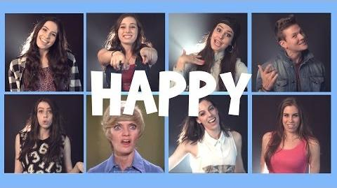 """Happy"" by Pharrell Williams, cover by CIMORELLI and Tyler Ward"
