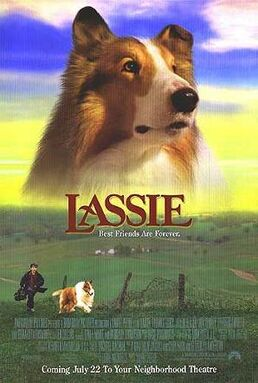 Lassie 1994 movie poster