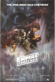 The Empire Strike Back Poster