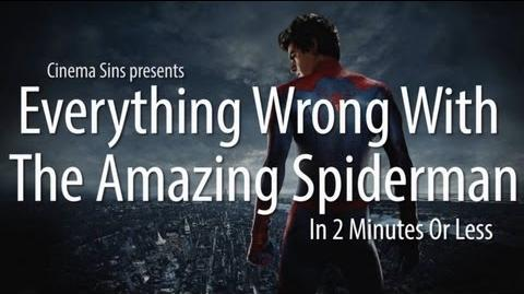 Everything Wrong With The Amazing Spiderman In 2 Minutes Or Less