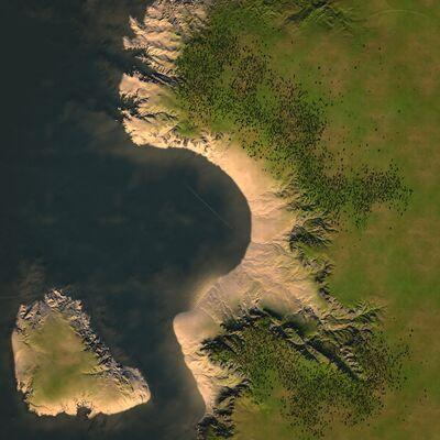 Overhead - The Coastal Bay