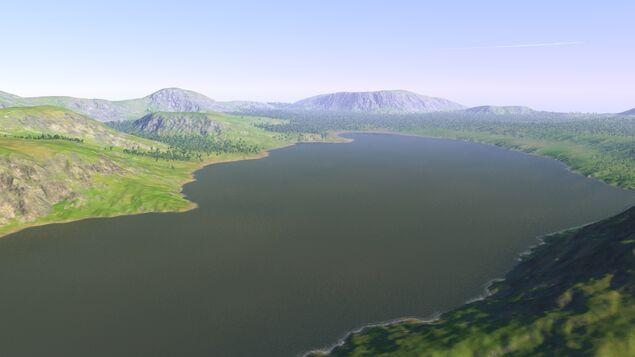 The Lake on the Plain