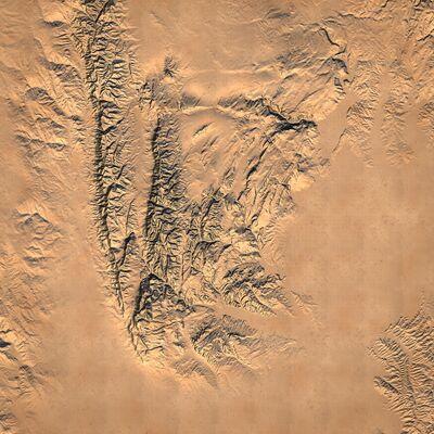 Overhead - The Rocky Desert