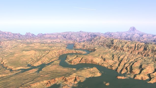 Across - Lake Powell