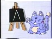 Abacat with chalkboard