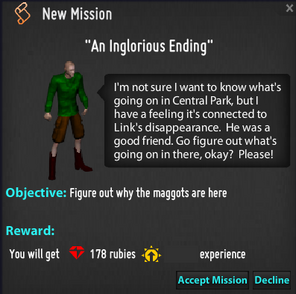 An Inglorious Ending Mission