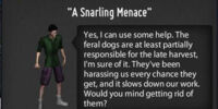 A Snarling Menace